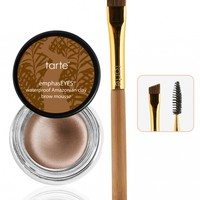 Amazonian clay waterproof brow mousse from tarte cosmetics