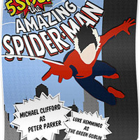 Michael clifford as Spider Man