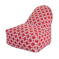 Printed Kick-It Chair - Links - Red