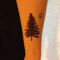 Pine Tree Temporary Tattoos- SmashTat