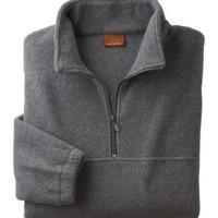 Harriton M980 Quarter-Zip Fleece Pullover