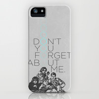 BREAKFAST CLUB... iPhone & iPod Case by studiomarshallarts