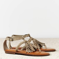 AEO Women's Braided Tassel Sandal