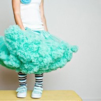 Sweetheart Pettiskirt by Dreamspun Carribean by DreamSpunKids