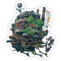 8bit Howl's Moving Castle T-Shirts & Hoodies