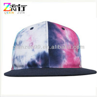 Source 2013 Fashion Unisex Multicolor Tie Dye Effection 6 Panel Snapback Cap on m.alibaba.com