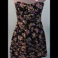 Urban Outfitters Floral Strapless Dress