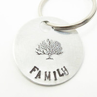 Tree of life keyring key ring keychain - Family key ring keychain - Family tree key ring - Gift for Mom Gift for Dad Gift for family