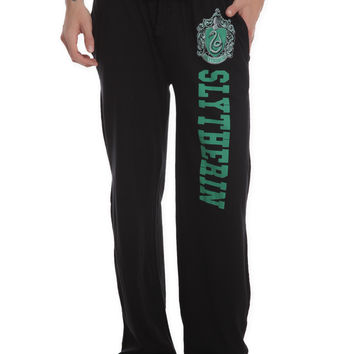 Harry Potter Slytherin Mens Pajama Pants