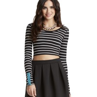 PRETTY LITTLE LIARS ARIA PONTE SIDE ZIP SKIRT
