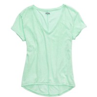 AERIE DEEP V-NECK OVERSIZED T-SHIRT
