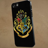 Harry Potter hogwart School - NRT - iPhone 5 case Black/White Case