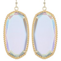 Deily Earrings in Clear Iridescent - Kendra Scott Jewelry