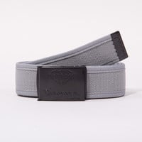 OG Logo Clamp Belt in Grey/Black - BELTS - ACCESSORIES