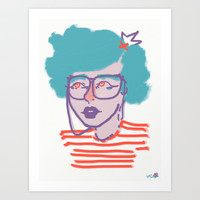 iEYEglasses Art Print by Ben Geiger