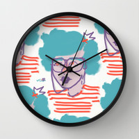 iEYEglasses Wall Clock by Ben Geiger