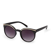 F7968 Modernist Cat-Eye Sunglasses