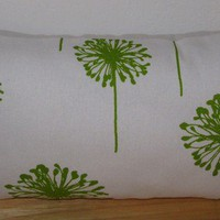 Decorative Throw Pillow/Lumbar Pillow by precioussewingbox on Etsy