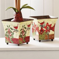 Shopping | Smithsonian Bud and Cardinal Planters