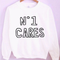 No One Cares Crewneck