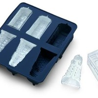 Doctor Who Silicone Ice Tray and Chocolate Mold - TARDIS and Daleks Themed Mold Tray