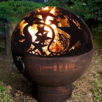 Good Directions Fire Bowl With Orion Dome