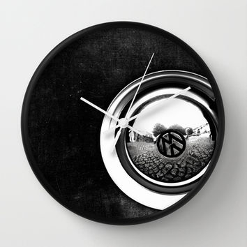 VW Beetle Wall Clock by ingz