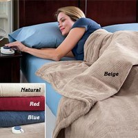 Micro-fleece Electric Blanket @ Fresh Finds