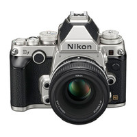 Nikon Df Silver 16.2-MP DSLR Camera with 50mm f/1.8G SE Lens