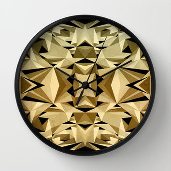 ABSTRACTION ARTDECO Wall Clock by Nika