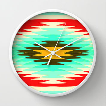 SURF LOVIN : CALIFORNIA Wall Clock by Nika