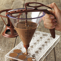 The Chocolate Maker's Funnel in decorating utensils at Lakeland
