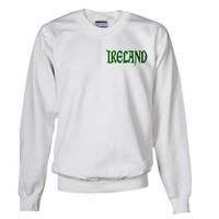 Ireland Green Vinque Ethnicity Sweatshirt by CafePress