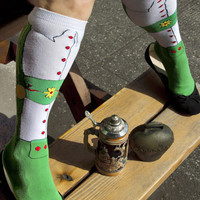 Socks by Sock Dreams » .Socks » Knee Highs » Lederhosen Knee High