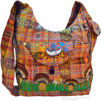 Embroidered Shroom Shoulder Bag on Sale for $32.95 at HippieShop.com