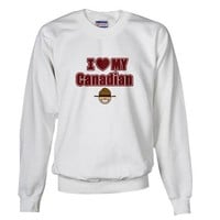I love my Canadian Canada Sweatshirt by CafePress