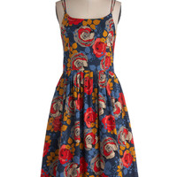 High Socie-tea Dress in Floral | Mod Retro Vintage Dresses | ModCloth.com