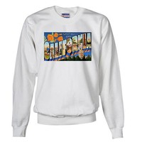 California Greetings Front Vintage Sweatshirt by CafePress