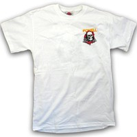 Powell Classic Ripper Short-Sleeve T-Shirt (White)
