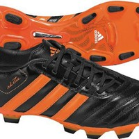 adidas adiPure III TRX FG Cleats (Warning/Black/Met Silver/White)