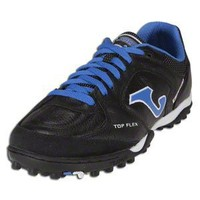 Joma Top Flex Turf Soccer Shoes (Black/Royal/White)