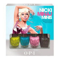OPI Nicki Minaj Mini Nail Laquers, .5 oz.