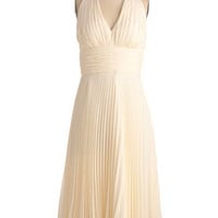 University of Marilyn Dress in Cream | Mod Retro Vintage Dresses | ModCloth.com