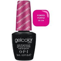 GelColor by OPI Soak-Off Gel Laquer nail polish - Pompeii Purple - GC C09