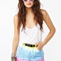 Nasty Gal x MINKPINK Vicky Cutoff Shorts  in  Clothes Bottoms Shorts at Nasty Gal