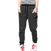 Mens Elastic Low Waist 2012 Stylish Color Patch Sweatpants