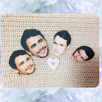 James Franco Stickers (set of 5)