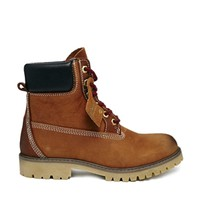 Bronx Brown Lace Up Worker Boots
