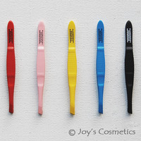 "1 TWEEZERMAN Professional Tweezers Tweezette ""Pick Your 1 Color""*Joy's cosmetics"