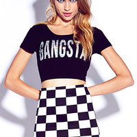 Gangsta Crop Top